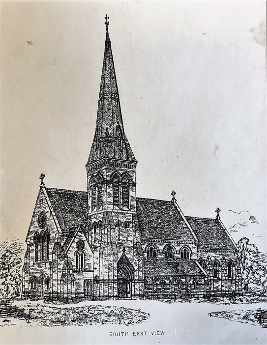 Design drawing from The Architect, 1874. Reporduced with the permission of the Library of Birmingham WPS WK H8 4