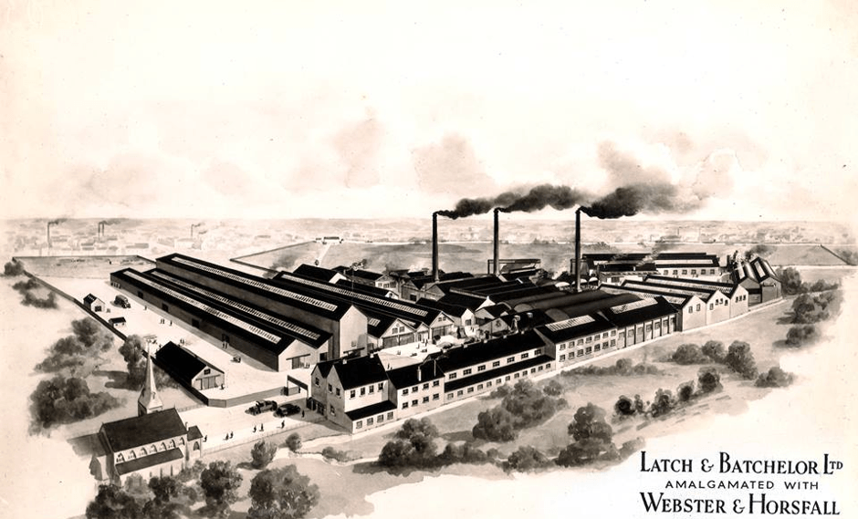 The Hay Mills Works c. early 20th century